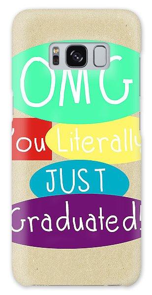 Celebration Galaxy Case - Graduation Card by Linda Woods