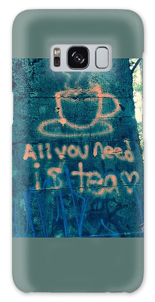 Graffitea Time Galaxy Case
