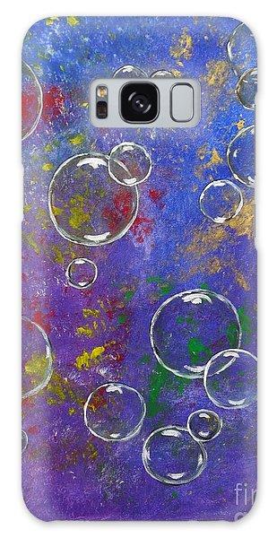 Graffiti Bubbles Galaxy Case