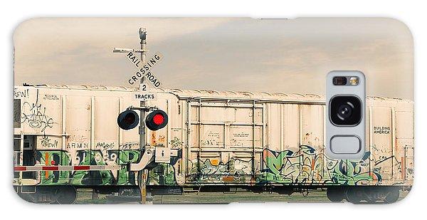 Graffiti Ride Galaxy Case by Gina  Zhidov