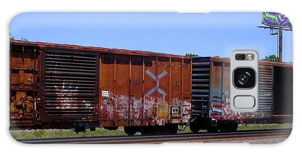 Graffiti Train With Billboard Galaxy Case