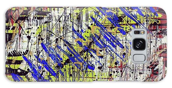 Graffitti Galaxy Case by Cathy Beharriell