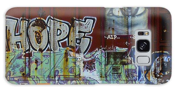 Grafitti Art Riding The Rails 6 Galaxy Case