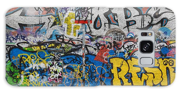 U2 Galaxy Case - Grafitti On The U2 Wall, Windmill Lane by Panoramic Images
