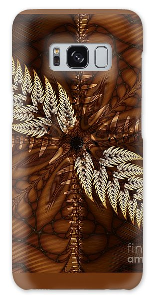 Grain Harvest Galaxy Case by Michelle H