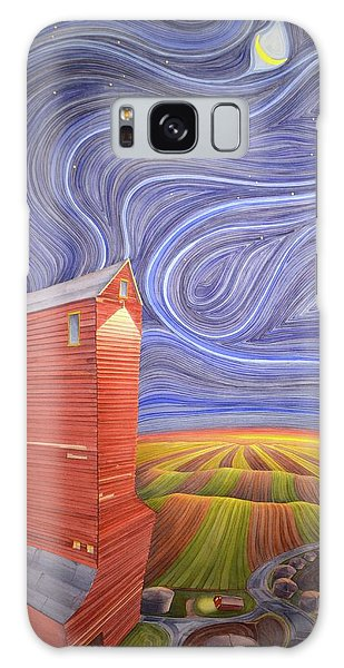 Grain Tower IIi Galaxy Case by Scott Kirby