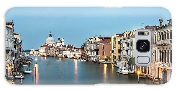 Grand Canal In Venice, Italy Galaxy Case