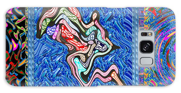 Grand Canvas Abstract Collection Seascape Waves Tornado Island Nightmare Galaxy Case by Navin Joshi