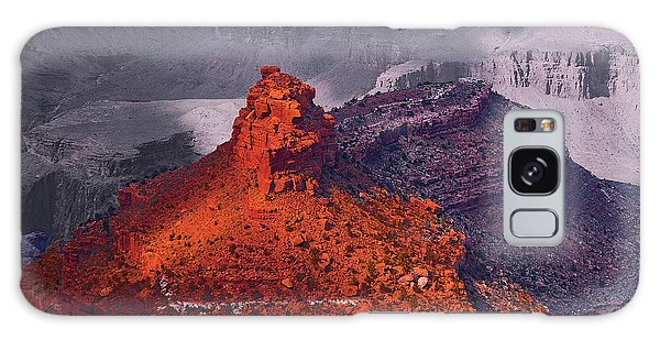 Grand Canyon In Red And Blue Galaxy Case