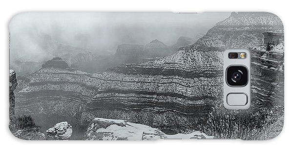 Grand Canyon In The Fog Galaxy Case