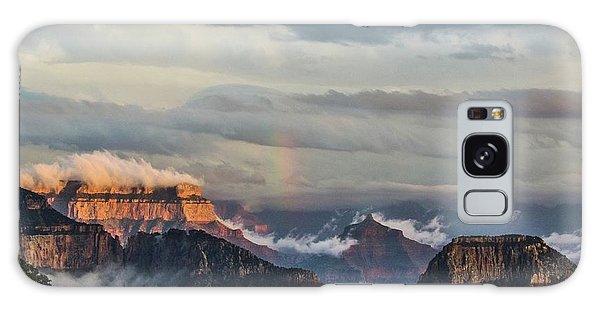 Grand Canyon Monsoon Rainbow Galaxy Case