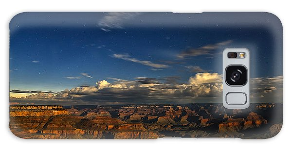 Grand Canyon Moonlight Galaxy Case
