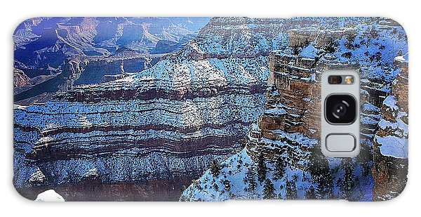 Grand Canyon National Park In Winter Galaxy Case