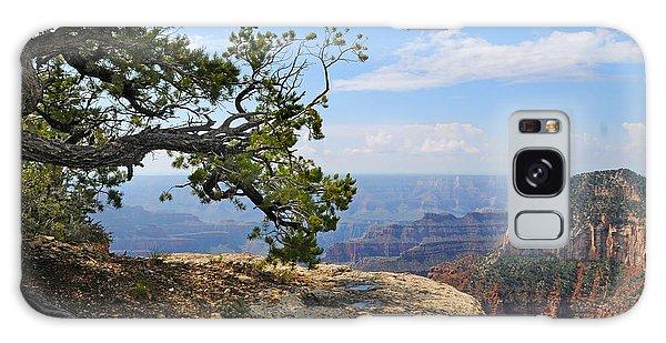Grand Canyon North Rim Craggy Cliffs Galaxy Case