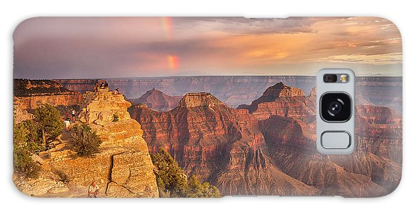 Grand Canyon North Rim Rainbow Galaxy Case