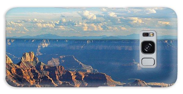 Grand Canyon North Rim Sunset San Francisco Peaks Galaxy Case