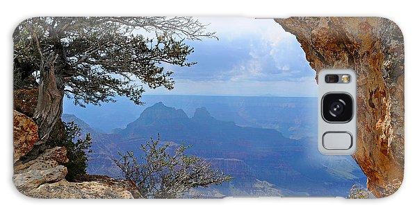 Grand Canyon North Rim Window In The Rock Galaxy Case