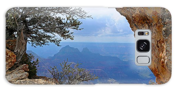 Grand Canyon North Rim Window In The Rock Galaxy Case