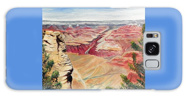 Grand Canyon Overlook Galaxy Case