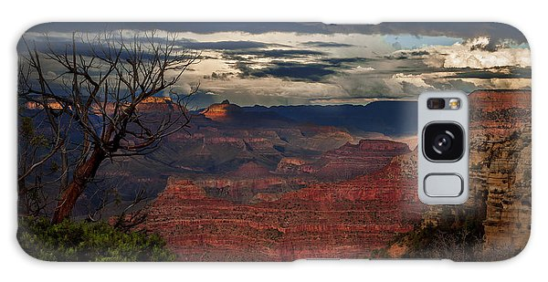 Grand Canyon Storm Clouds Galaxy Case