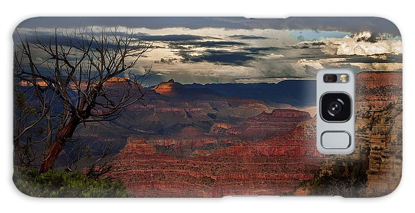 Grand Canyon Storm Clouds Galaxy Case by John A Rodriguez