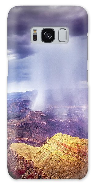 Grand Canyon Summer Storm Galaxy Case