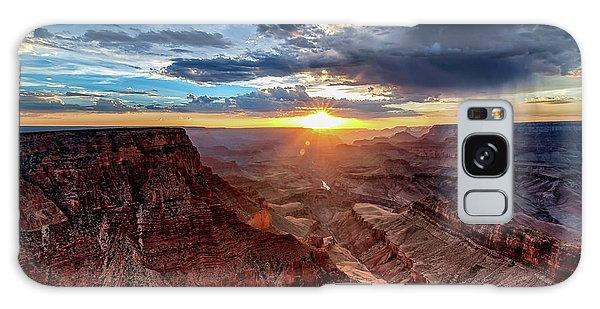 Grand Canyon Sunburst Galaxy Case