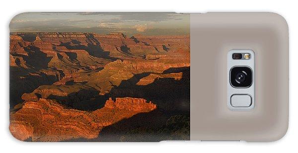 Grand Canyon Sunset Panorama Galaxy Case