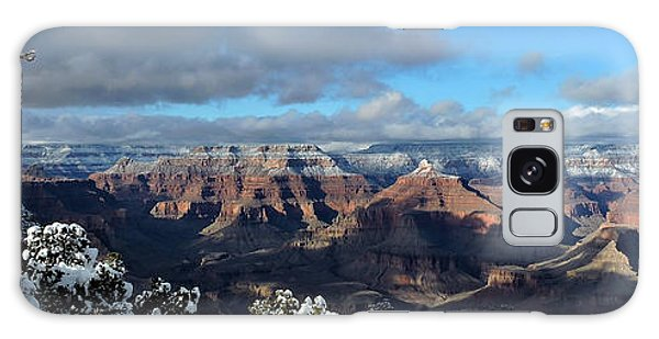 Grand Canyon Winter Vista Galaxy Case