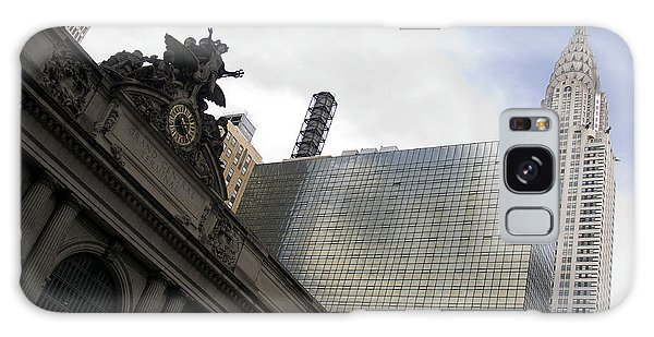 Grand Central And The Chrysler Building Galaxy Case by Michael Dorn