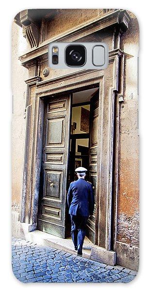 Grand Entrance - Rome, Italy Galaxy Case