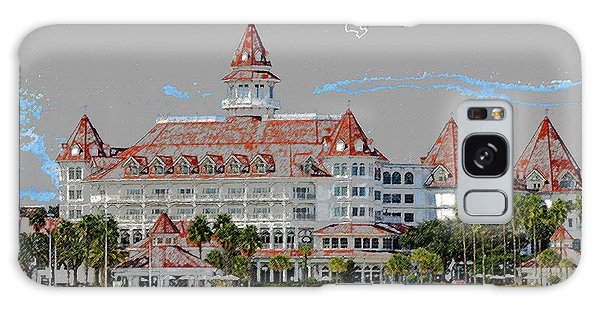 Grand Floridian In Summer Galaxy Case
