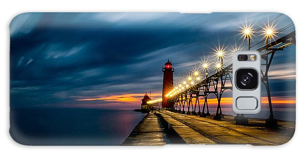 Grand Haven Lighthouse Galaxy Case