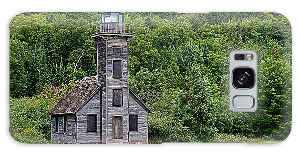 Grand Island East Channel Lighthouse #6680 Galaxy Case