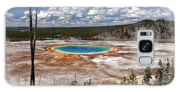 Galaxy Case featuring the photograph Grand Prismatic by John Gilbert