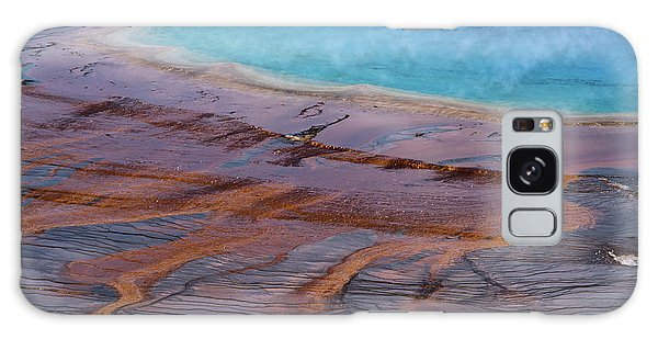 Grand Prismatic Spring Detail Galaxy Case