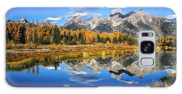 Teton Range Galaxy Case - Grand Teton Autumn Beauty by Vishwanath Bhat