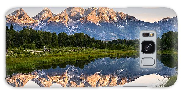 Grand Teton Awakening Galaxy Case