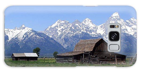 Grand Teton Barn Panarama Galaxy Case