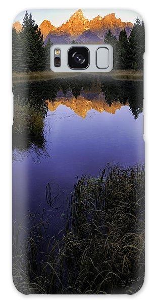 Grand Teton Morning Galaxy Case by Craig J Satterlee