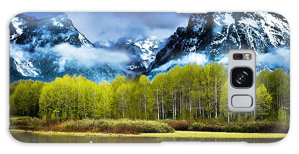 Grand Teton National Park Galaxy Case