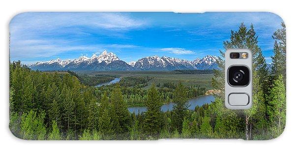 Teton Range Galaxy Case - Grand Teton Vista by Darren  White