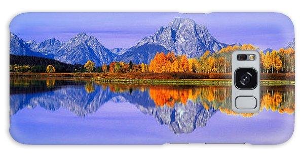 Contour Galaxy Case - Grand Tetons And Reflection In Grand by Panoramic Images