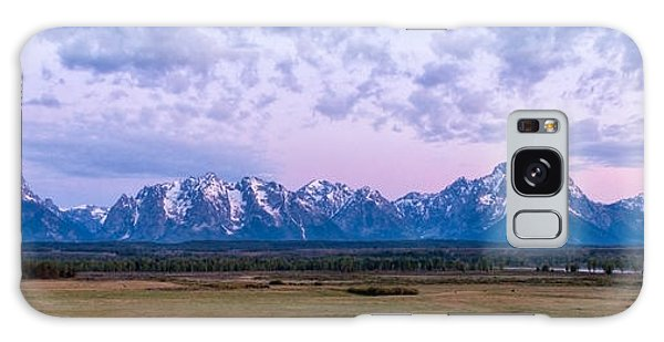 Teton Galaxy Case - Grand Tetons Before Sunrise Panorama - Grand Teton National Park Wyoming by Brian Harig