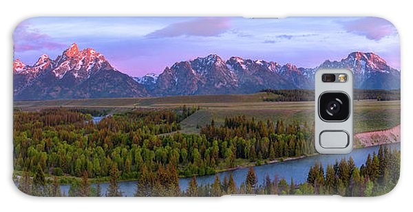 Dawn Galaxy Case - Grand Tetons by Chad Dutson