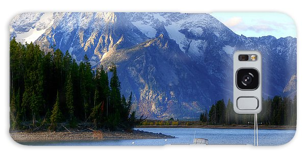Grand Tetons Galaxy Case by Charlotte Schafer