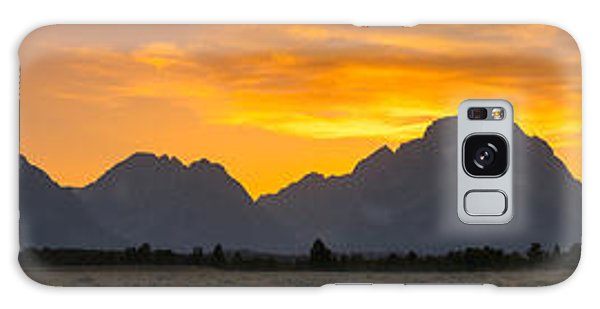 Teton Range Galaxy Case - Grand Tetons Sunset by Michael Ver Sprill