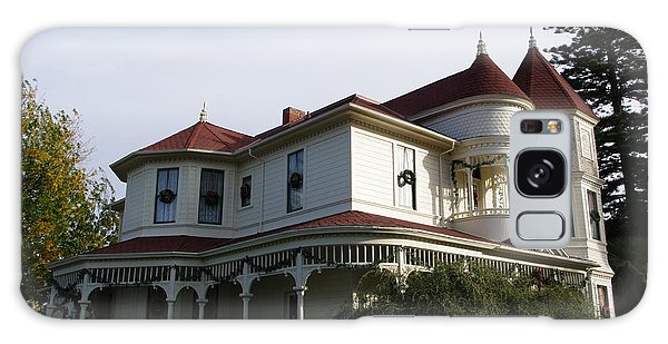 Grand Victorian Mansion  Galaxy Case by Jeff Lowe