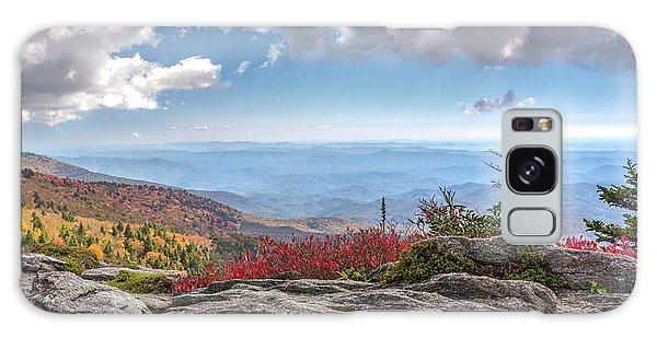 Grandfather Mountain Panorama 02 Galaxy Case