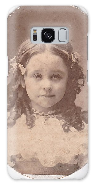Grandma As A Young Girl Galaxy Case
